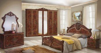 Amalfi Schlafzimmer braun 1 Türkische Möbel
