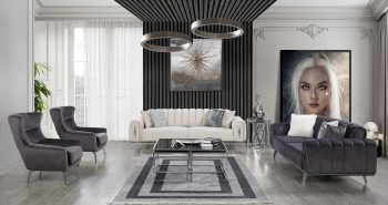 Versace couchgarnitur grau beige 1