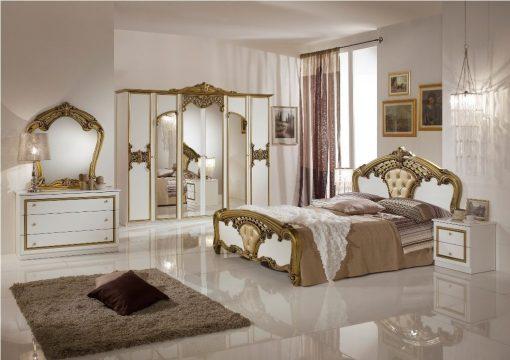 eva schlafzimmer gold weiß 2