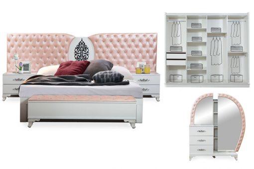 kral schlafzimmer rosa 3