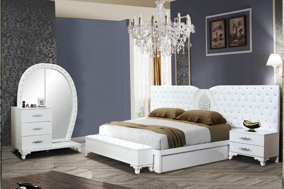 KRAL - Schlafzimmer Weiss