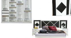 lara schlafzimmer weiss schwarz 3