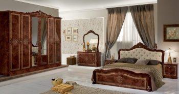 luisa schlafzimmer braun