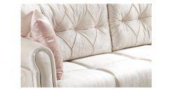 optima Eckcouch mit Schlaffunktion 2 beige rosa