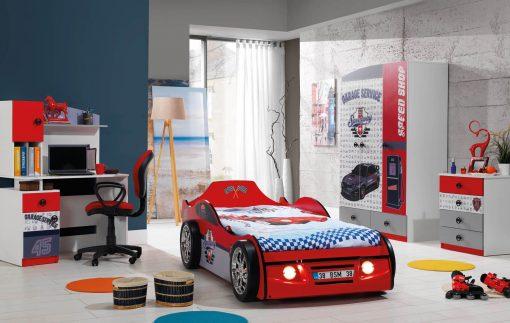 SPEED CAR - Autobett Kinderzimmer 1