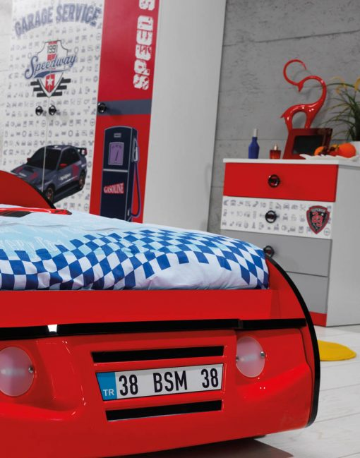 SPEED CAR - Autobett Kinderzimmer 5