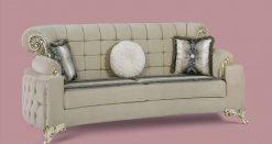 Uranus Couchgarnitur beige 3 Türkische Couch