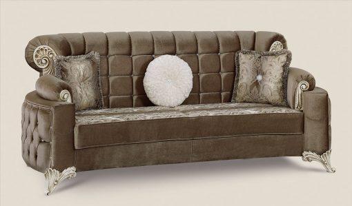 Uranus Couchgarnitur braun 3 Türkische Couch