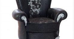 Uranus Couchgarnitur schwarz 4 Türkische Möbel